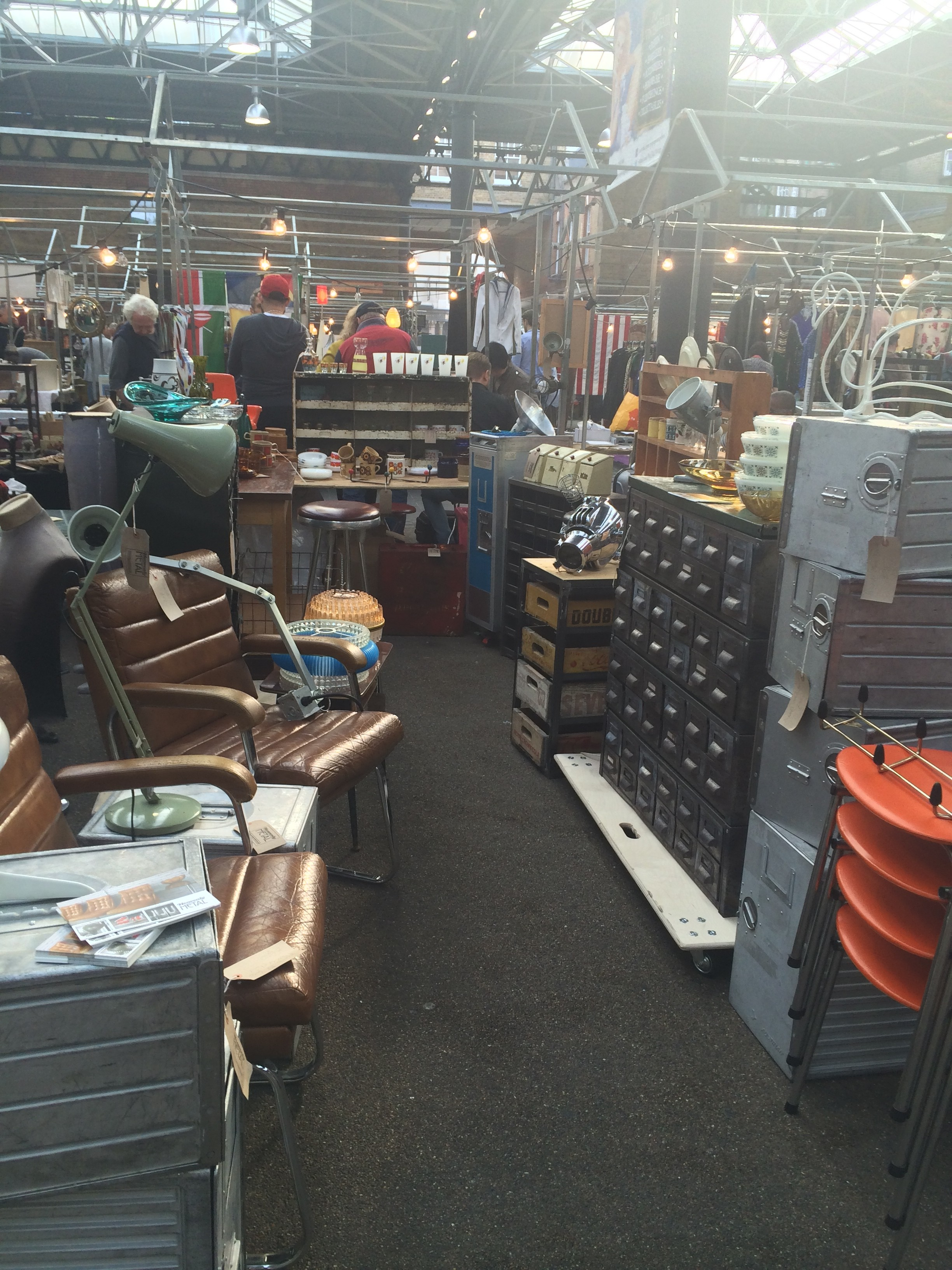 Old Spitalfields antique market Thursday